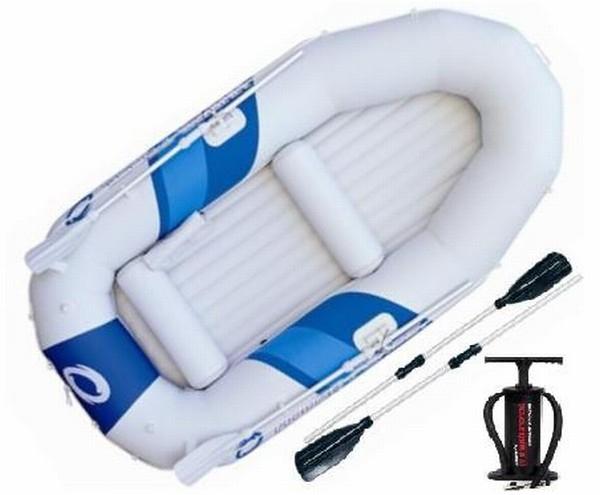 лодка надувная гребная с веслами и насосом bestway
