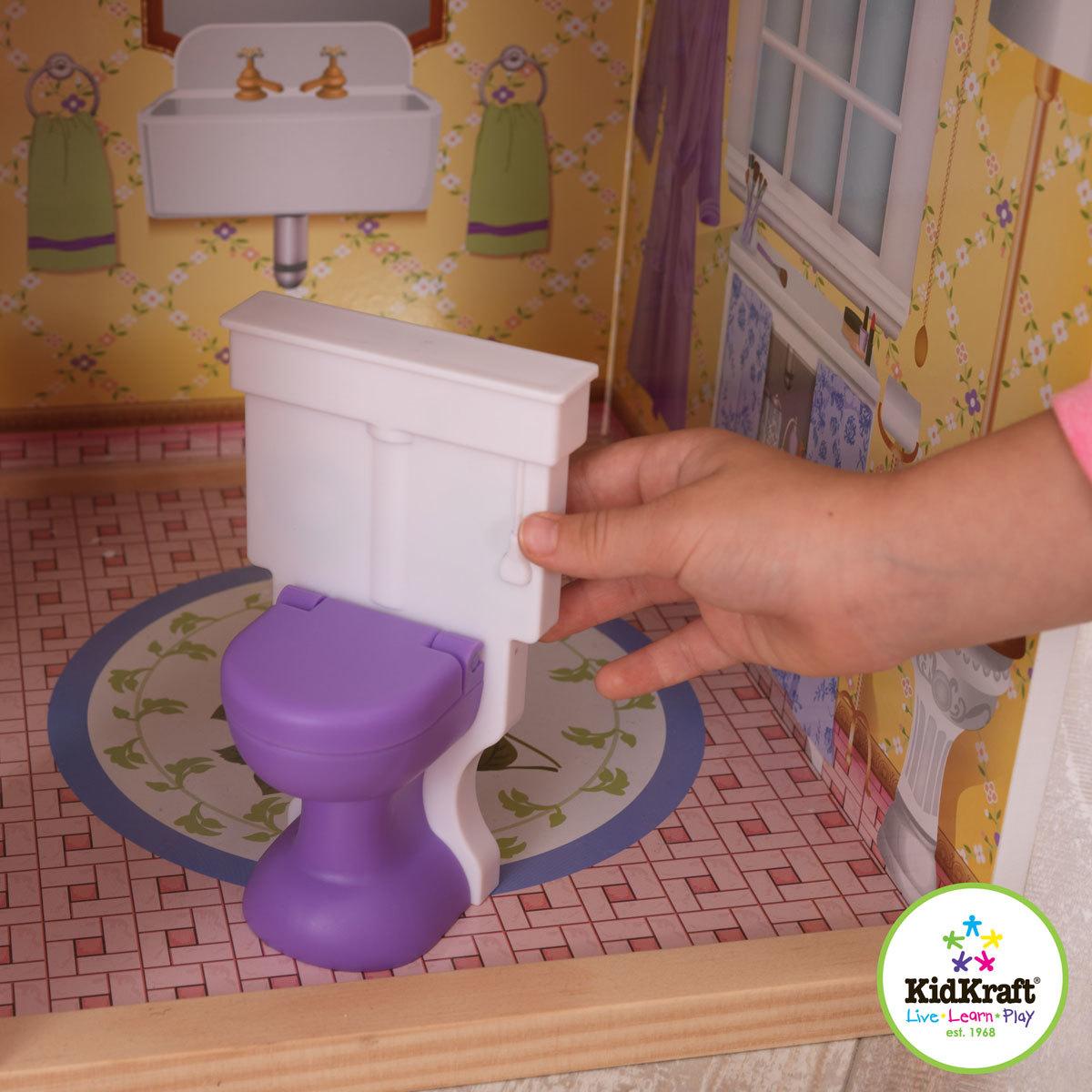 Как сделать унитаз для куклы Барби 55