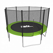 батут unix line simple 8 ft outside green