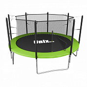 батут unix line simple 10 ft inside green