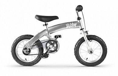 велобалансир hobby-bike aluminum grey