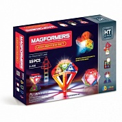 конструктор magformers магнитный led lighted set 709001