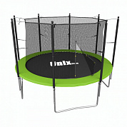 батут unix line simple 8 ft inside green