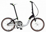 велосипед dahon ciao d7 black-white 20 складной