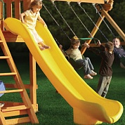скат горки playnation super scoop slide yellow
