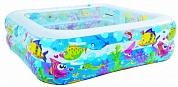бассейн jilong sea world square pool детский 145x145x45 42973