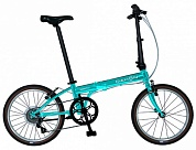 велосипед dahon speed d7 vivid dusk 20 складной