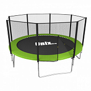 батут unix line simple 12 ft outside green